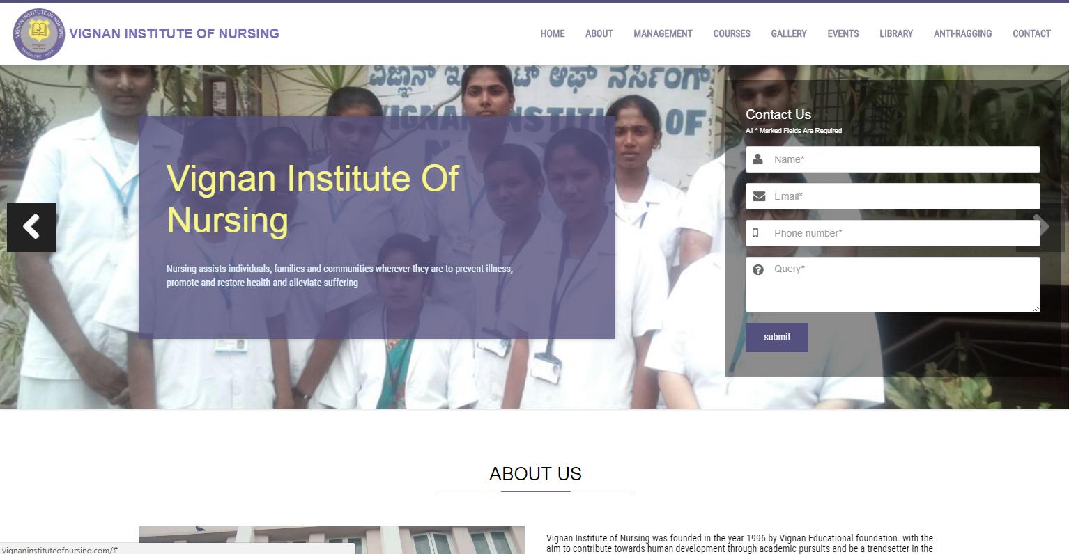 vignan student portal